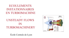 MOS 3.5 - Unsteady flows in turbomachinery - Session 6.1
